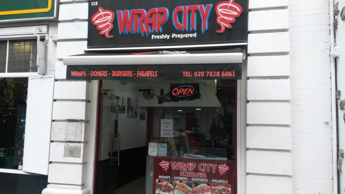 Wrap City Kebab (Londýn)